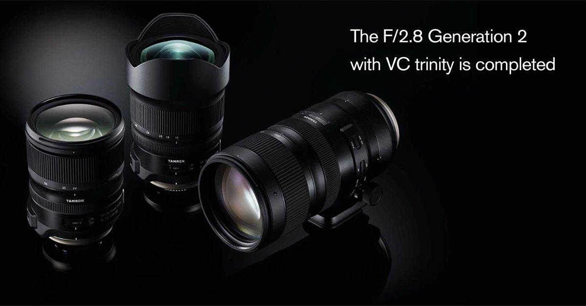 Tamron G2 Lens Trio