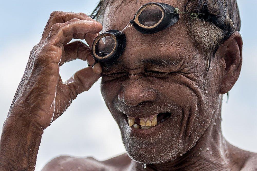 Sea Gypsie Fisherman by Maxim Logunov