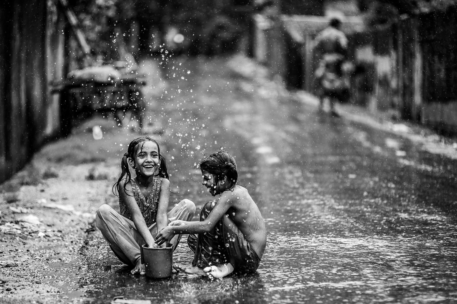 Monsoon Splash by Ata Mohammad Adnan